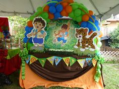 Go Diego Go Birthday Party Ideas | Photo 51 of 60 | Catch My Party