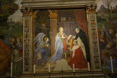 S.M. Sopra Minerva - Carafa Chapel - frescoes by Filippino Lippi 1489-93.