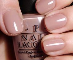 nude nails <3  OPI tickle my fancy