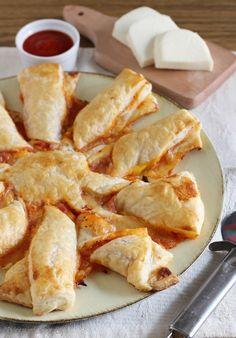 Sole di pizza con la pasta sfoglia Dulcisss in forno by Leyla