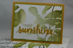Serene Scenery DSP stack - Crazy About You - Sunshine Wishes - CAS - My Elegant Cards - Liz Bailey - Independent Stampin' Up! Stampin Up Christmas, Christmas Cards, Stamping Up, Cute Cards, Paper Design, Craft Fairs, Stampin Up Cards, My Images, Serenity
