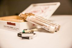 Wedding cigars  |  Lauryn Reifinger Photography