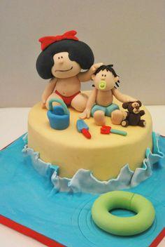 mafalda cake pastel quino argentina