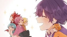 Honey Works, Anime Best Friends, Indie Pop, Cover Songs, Vocaloid, Cute Guys, Chibi, Cool Art, Character Design