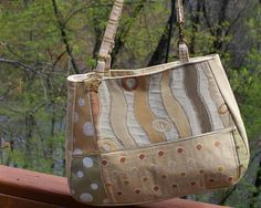 Check out this item in my Etsy shop https://www.etsy.com/listing/232681156/handmade-fabric-handbagpursevanilla