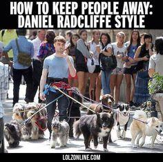 Daniel Radcliffe's Method Works#funny #lol #lolzonline