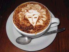 coffee art | Mi cajón de Imágenes: Arte en café