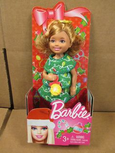 2012  KELLY CHRISTMAS DOLL, CHELSEA......NRFB #Mattel