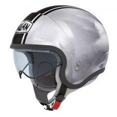 Nolan N21 Jethelm, Scratched Chrome - Jethelme - Helme und Brillen