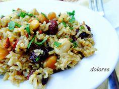 No le falta detalle a este plato de arroz tan exótico. ¿Te animas a probarlo?