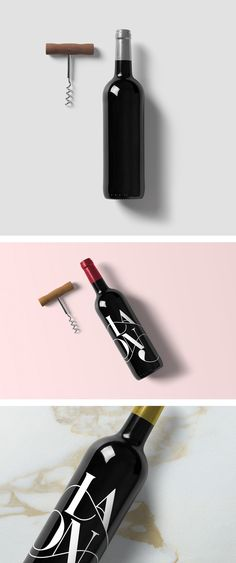 This free Wine Mockup allows you to showcase your Wine Bottle label in a realistic way. You will find two PSD files ready to use. Just replace your design.