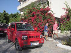 Klaar voor de Jeepsafari op Kreta. Vanuit Hotel Esperides in Mirtos.