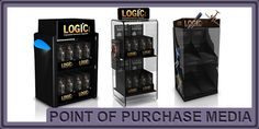 Point of Sale Marketing Media - Stickers / Decals / Signs / Banners / Display Cases