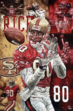 Jerry Rice by Justyn Farano