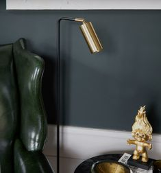 The shade is made from a tube of brass, steel or Iron. The brass and steel parts are solid and brushed, and the base is made of iron. All metal parts are lacquered Desk Lamp, Table Lamp, Blitz Design, Lighting Design, Bulb, Flooring, Lights, Steel, Interior