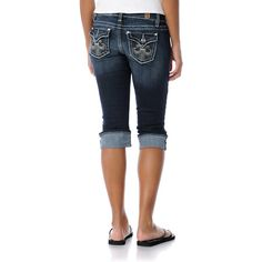 YMI Jeans Girls Becca Cropped  Jeans