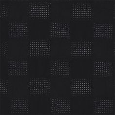 Black Leno Check Gauze - 34294 - Fabric By The Yard At Discount Prices