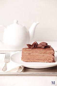 Chocolate Mille Crêpes