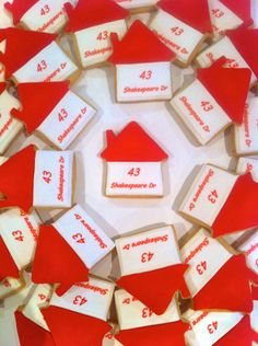 Make your Open For Inspection or Auction Day that little bit fancier with custom cookies.