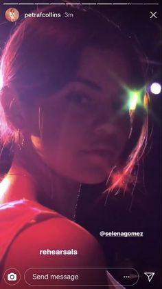 Selena Gomez with Petra Collins