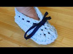 Zapatillas de trapillo paso a paso - YouTube