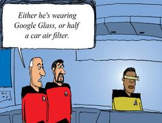 5 Star Trek Technologies that we use in the 21st Century. Click image to read article. Credit to Mashable for this image.  (Classic!).
