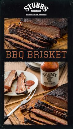 Making a BBQ brisket requires a lot of patience, as it is best when cooked low and slow for hours. Get the recipe for Smoked BBQ Brisket using Stubb's BBQ Rub and Bar-B-Q Sauce for bold Texas flavor! Bbq Brisket, Smoked Brisket, Grilling Recipes, Meat Recipes, Smoking Recipes, Bbq Rub, Stubbs Bbq, Beef Dishes, Rind