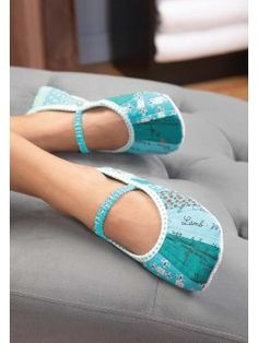 Hand-Made Cozy Slippers | Purchase pattern ($4.00) @ InterweaveStore.com
