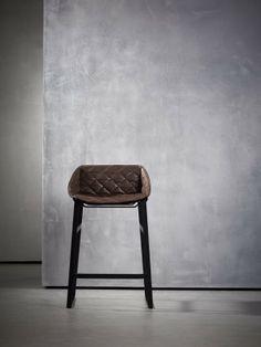 betonbehang en design kruk