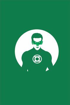 Green Lantern - vector on Student Show