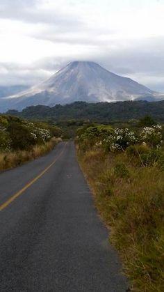 Volcan de Colima. Mexico