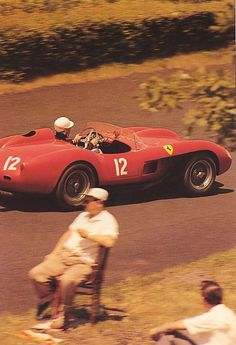 My all time favorite racing photo....JA       Ferrari