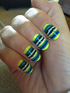 Twitter / PaigeMaretti: Ruffle Nails