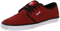 Fallen Men's Forte 2 Skateboard Shoe, Blood Red/White, 8.5 M US -- Read more reviews of the product by visiting the link on the image.