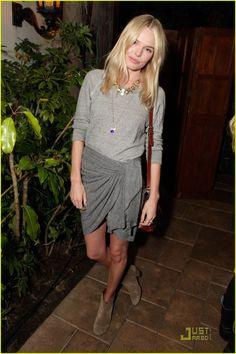 Kate Bosworth in Total Grey
