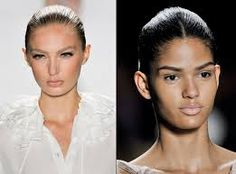 Sleek wet look straight on the catwalks http://www.rm-uk.com/
