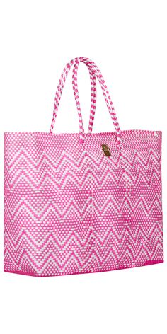 Get ready for summer! JOIE Louisa Tote Fuchsia/White. Carry-all Handbag