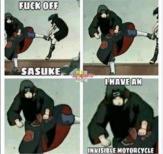 Lol. Sasuke and Itachi.