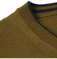 rag amp bone sarah ribbed cashmere and wool blend turtleneck sweater net a portercom - PIPicStats Knitwear Fashion, Men's Knitwear, Back Neck Designs, How To Purl Knit, Merino Wool Sweater, Fashion Details, Pull, Couture, Mens Fashion