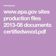 www.epa.gov sites production files 2013-08 documents certifiedwood.pdf