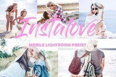 Mobiles Preset für Bright Instalove Lightroom - New Sites