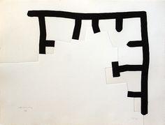 Eduardo Chillida, Sense titol (juventudes musicales portfolio)