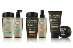New at Halcyon Days! Kerastase Capital Force hair care for men! Right now purchase any two and receive 25% off!
