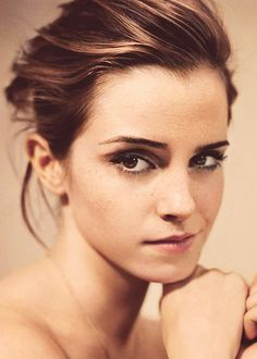 """""""I went through a stage of wanting to have that straight-up-and-down model look, but I have curves and hips, and in the end you have to accept yourself as you are…we have these unbelievably high expectations of ourselves, when actually we're human beings and our bodies have a function."""" - emma watson"""