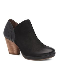 Marcia Black Burnished Nubuck from the Marbella