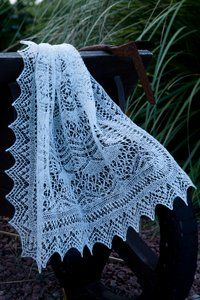 Pretty - would it be warm? Shetland Bound Stole by Monique Boonstra - Jamieson and Smith Knit Or Crochet, Crochet Shawl, Knit Cowl, Crochet Granny, Hand Crochet, Fair Isle Knitting, Lace Knitting, Finger Knitting, Shawl Patterns