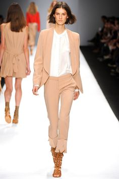 @Vanessa_Bruno #catwalk #trends #capri #maxi_sadals #PFW #Paris #SS_2013 #in