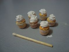 tutorial: miniature cupcakes