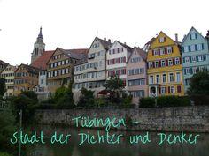 Tübingen zwischen Hermann Hesse, einem Herrgottsbescheißerle, Stocherkähnen und romantischer Altstadt. #Tübingen #Hesse #Städtetrip