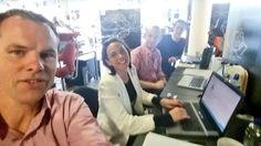 Startup Gathering planning team hard at work